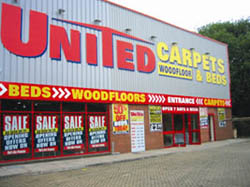 united carpets & beds