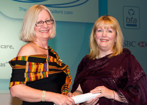 Janis Anderson - Franchisee of the Year and Female Franchisee of the Year 2013