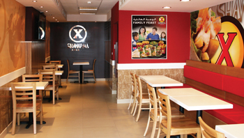 Shawarma xpress for Fast food decoration