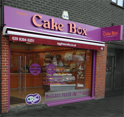 Eggfree Cake Box Leicester