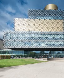Library of Birmingham Automated Shading Installation Project