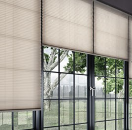 Pleated Blinds for Commercial Properties