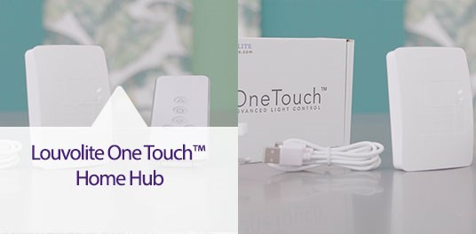 Proud Supplier of Louvolite Home Automation Solutions