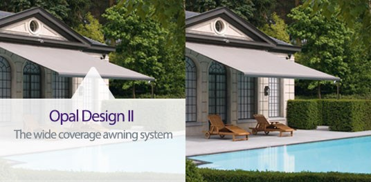 Opal Design II quality awning system from Weinor