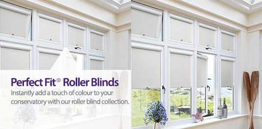 Perfect Fit® Roller Blinds expertly made to order from Capricorn Blinds