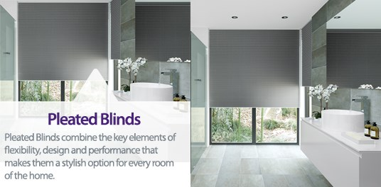 Bespoke,custom made pleated blinds in Solihull, Birmingham and West Midlands Region