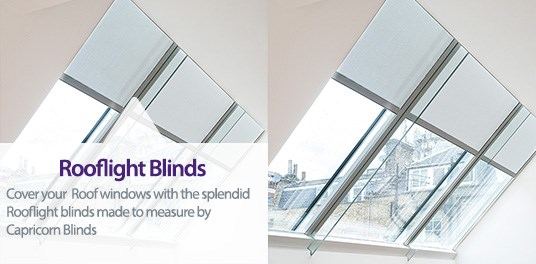 Bespoke,custom made Rooflight blinds in Solihull, Birmingham and West Midlands Region