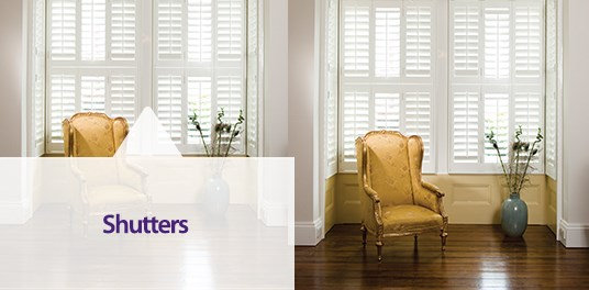 Bespoke, custom made wooden and PVC Window Shutters in Solihull, Birmingham and West Midlands Region