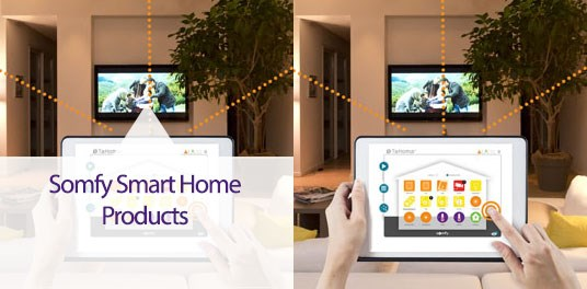 Proud Supplier of Somfy® Home Automation Systems for Blinds and Curtains