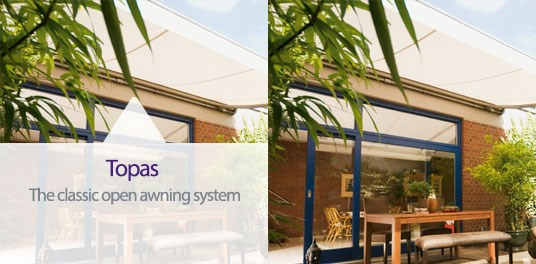 Topas Awnings -The Classic Awning System from Weinor
