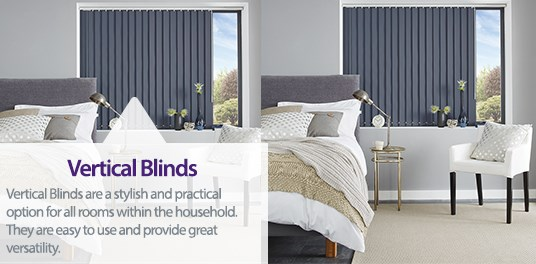 Custom made quality vertical blinds in Solihull, Birmingham and West Midlands Region