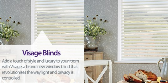 Bespoke,custom made Visage blinds in Solihull, Birmingham and West Midlands Region