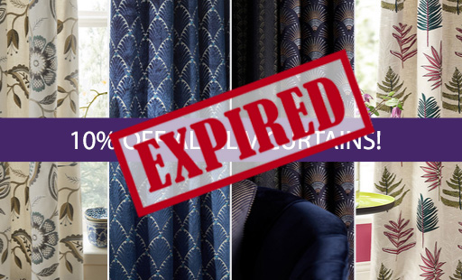 10% off all Iliv Curtains! - Expired