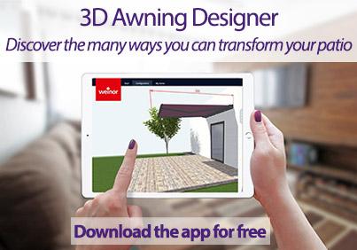 3D awning design app