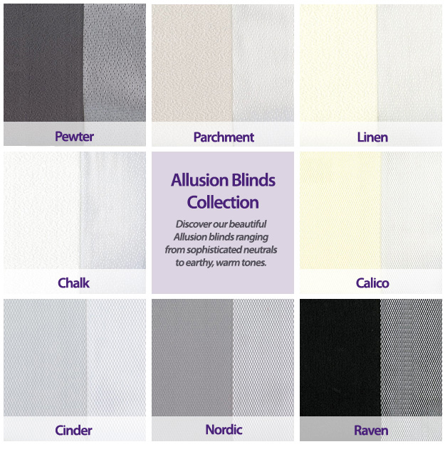 Allusion Blinds Horizon & Vista Collection