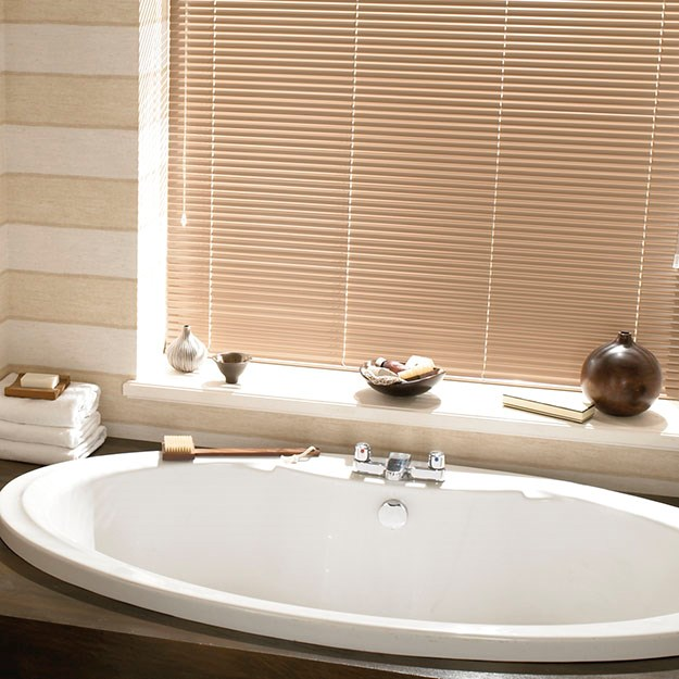 Latte Aluminium Venetian Blinds