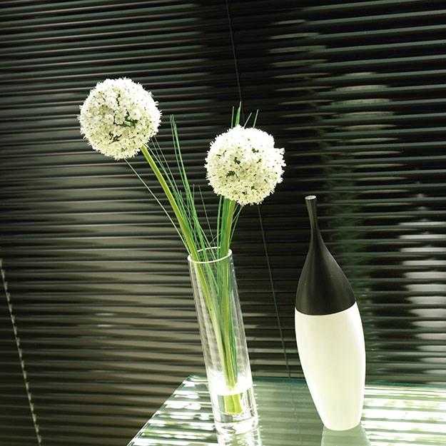 Sparkle Black Aluminium Venetian Blind