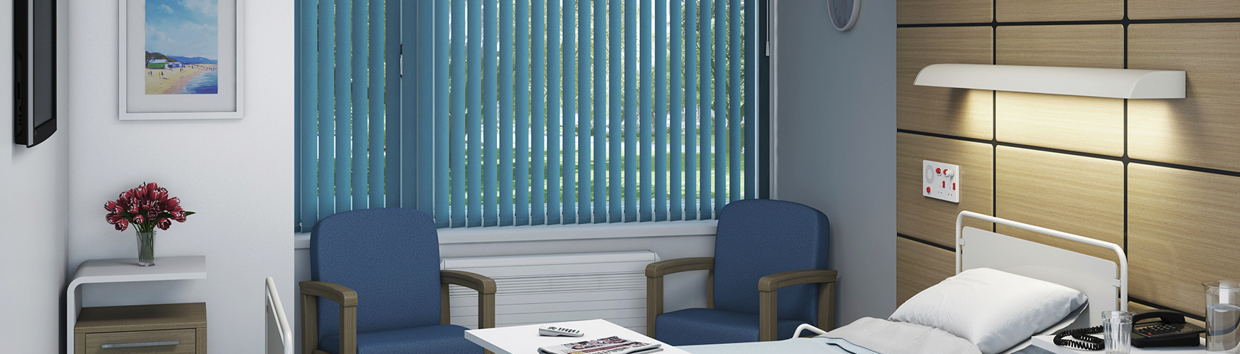 Blinds for hospitals,dentists and surgeries