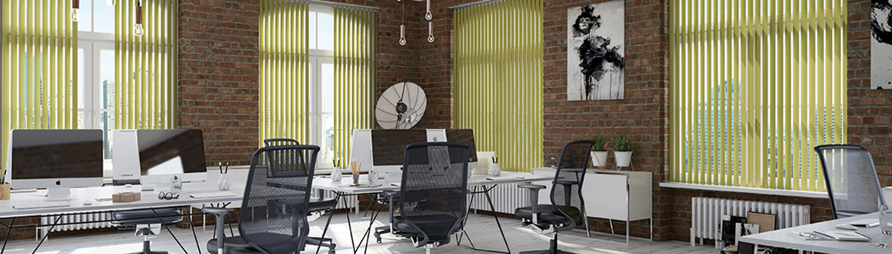 Office blinds and office curtains