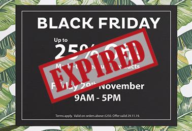 Black Friday Deals at Capricorn Blinds