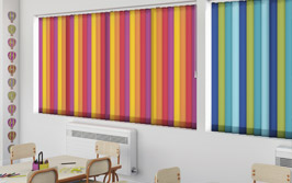 Classroom blinds from Capricorn Blinds