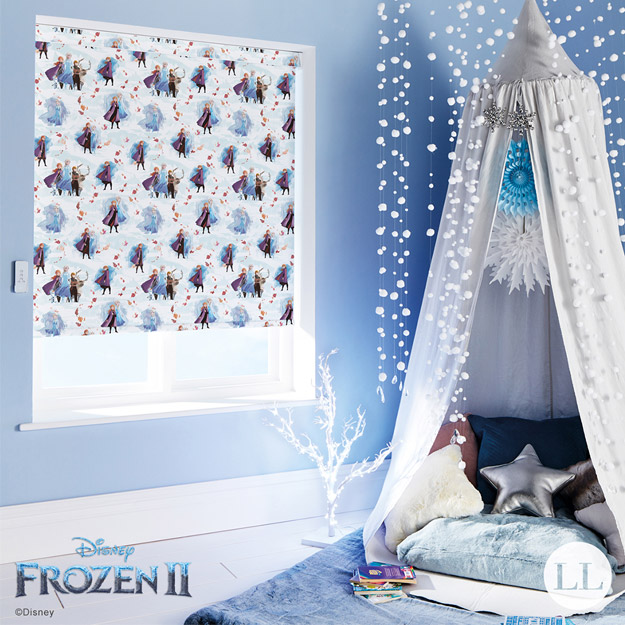 Frozen Capricorn Blinds