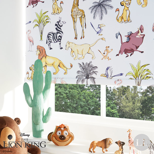 Disney Lion King Safari Capricorn Blinds
