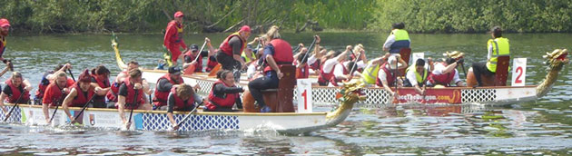 Edgbaston Dragon Boat Race 2019