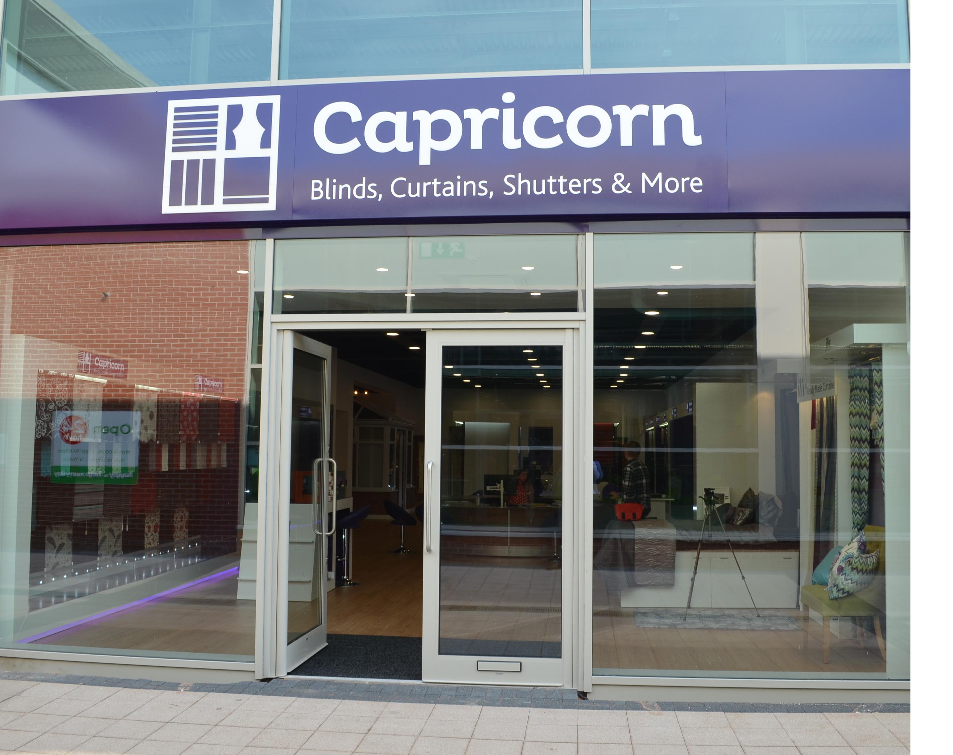 Capricorn Blinds Showroom