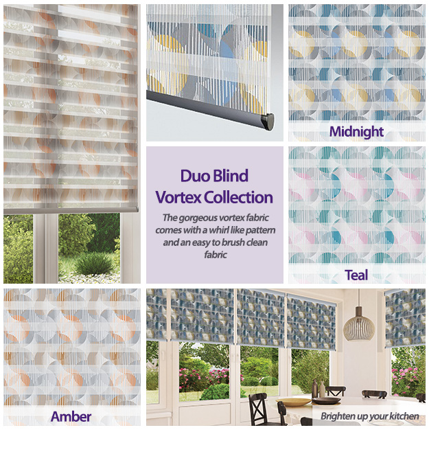 Duo Blinds Vortex Collection
