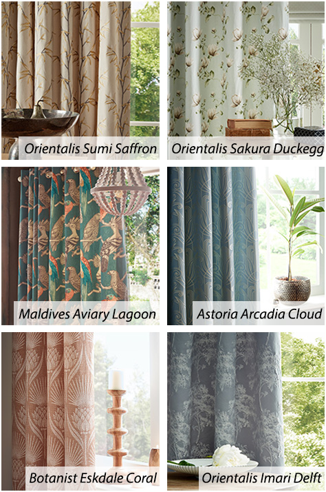 Gorgeous Iliv Curtain Collection