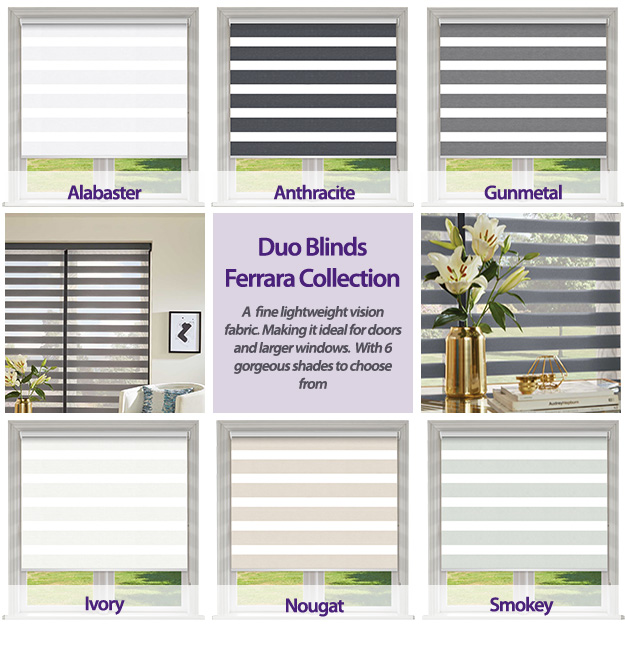 Ferrara Duo Blinds Collection