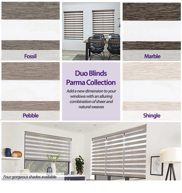 Duo Blinds Parma Collection