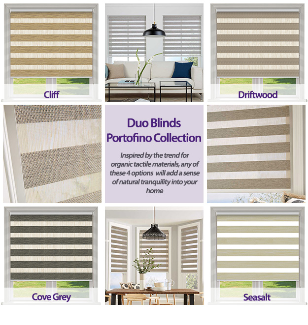 Duo Blinds Portofino Collection