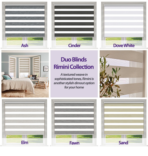 Duo Blinds Rimini Collection