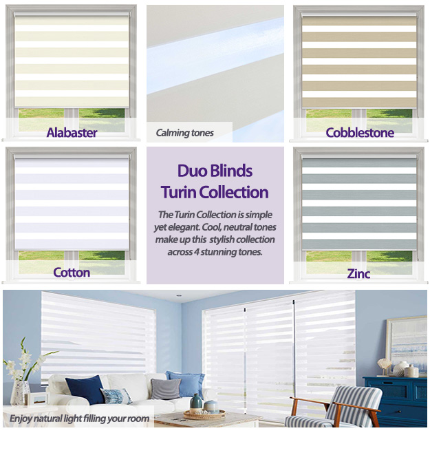 Duo Blinds Turin Collection