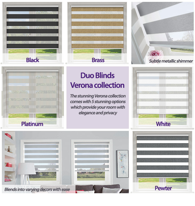Duo Blinds Verona Collection