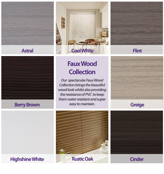 Faux Wood Collection