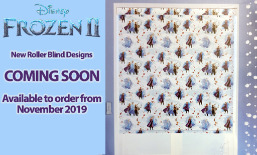 New Disney Frozen Roller Blind Collection