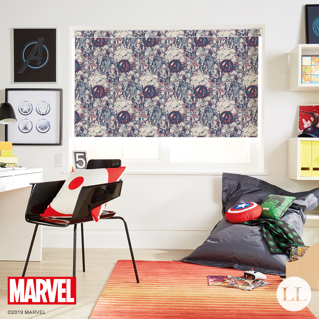 Marvel Heroes Roller Blinds