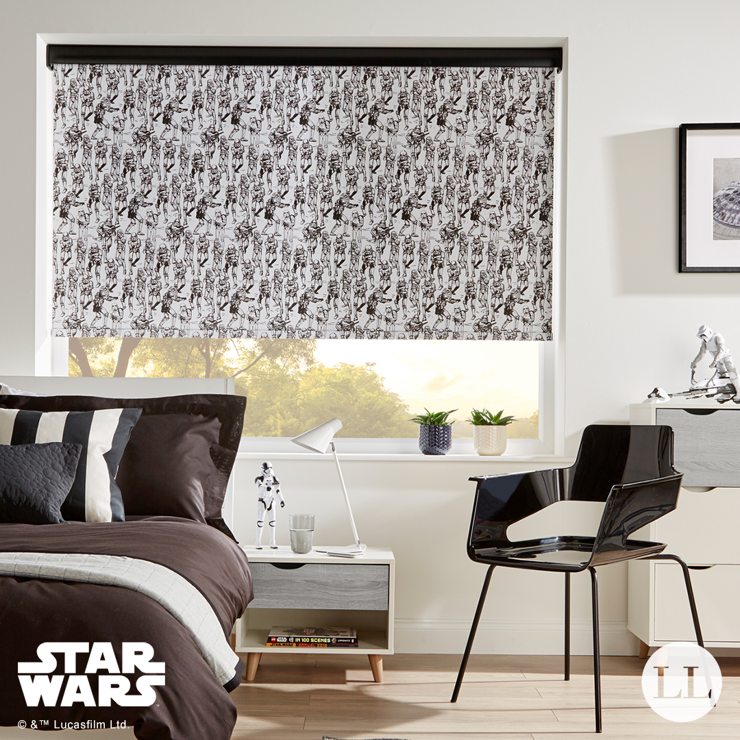 Star Wars Storm Trooper Roller Blind