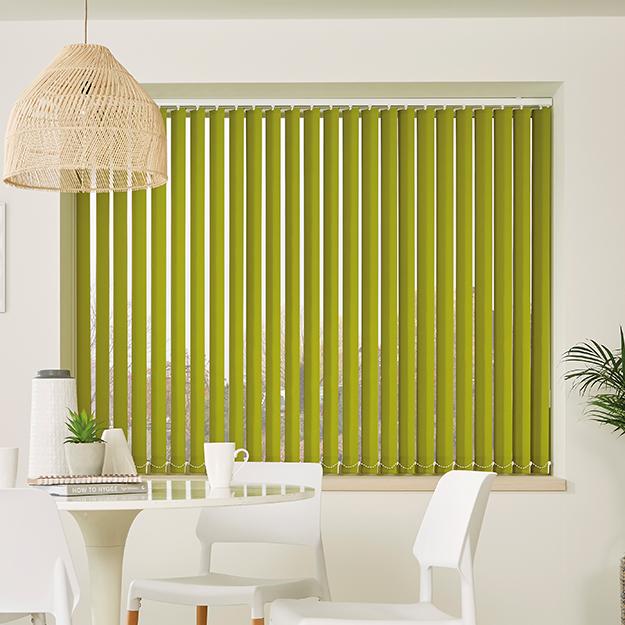 Garden Green Vertical Blind