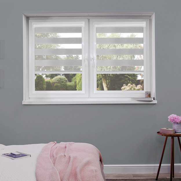Light Silver Perfect Fit Duo Blind