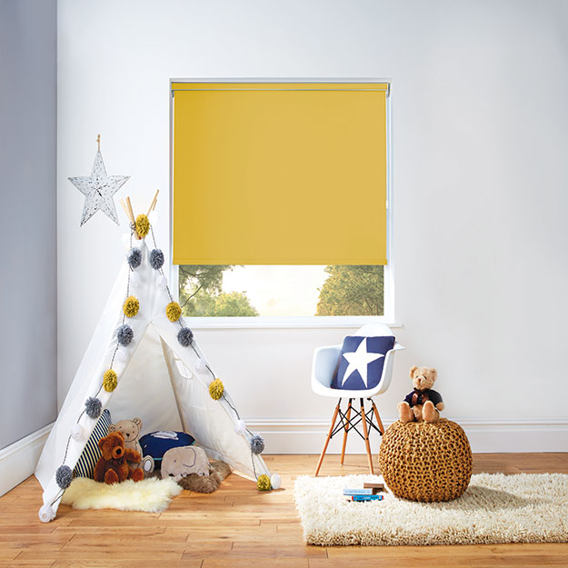 Carnival Blackout Acacia Roller Blind