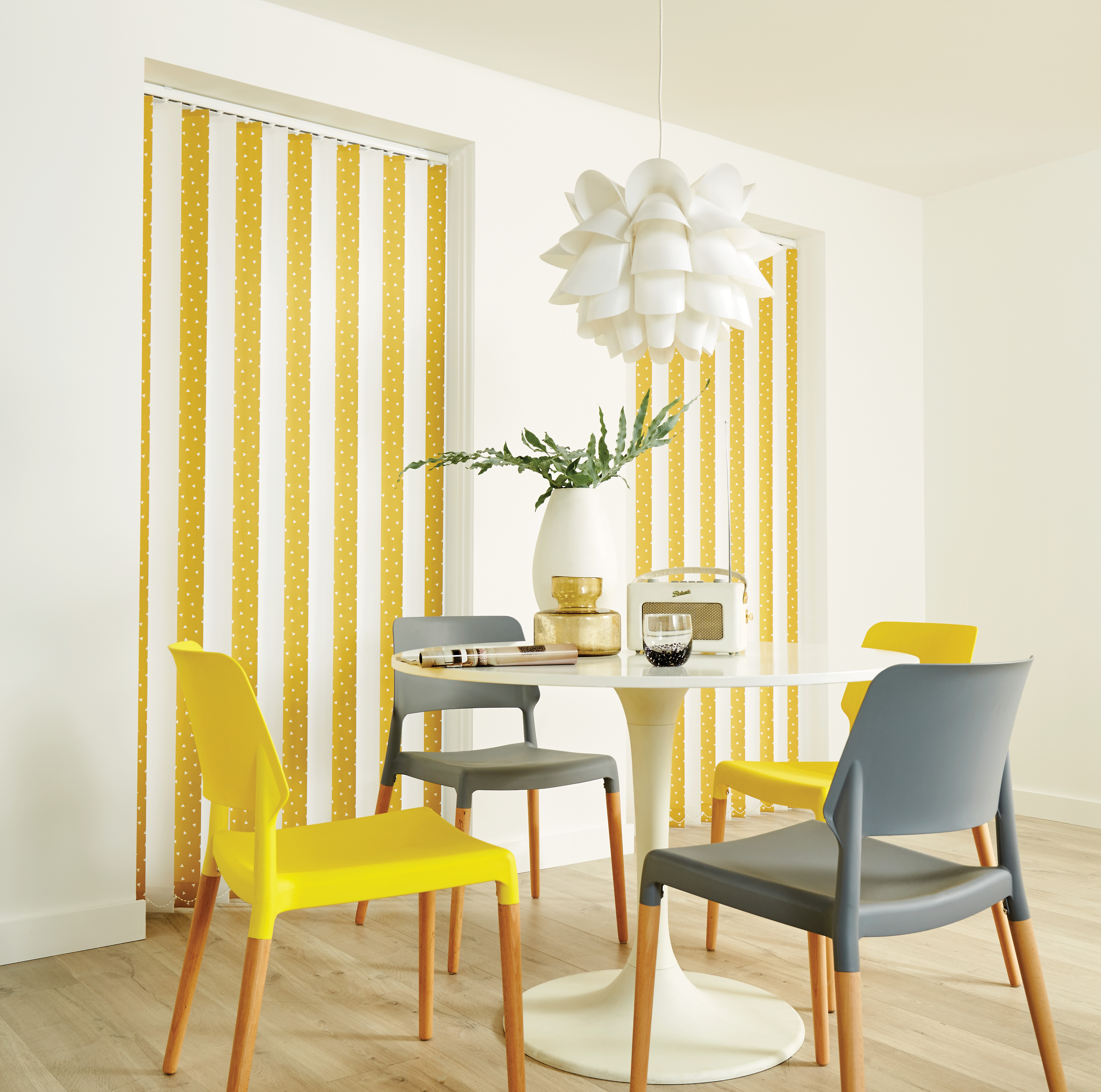 Pico Mustard Vertical Blinds