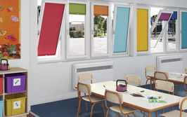 Nursery blinds from Capricorn Contracts