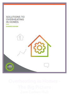 Overheating in Homes - The Big Picture