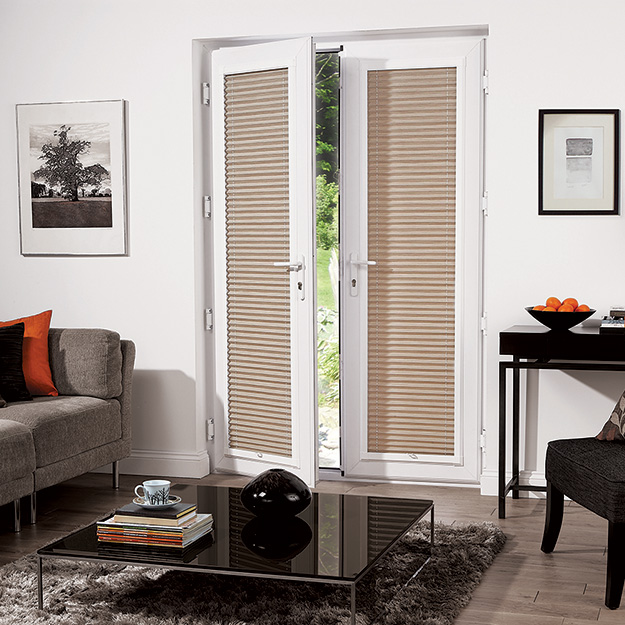 Green Perfect Fit Pleated Blind