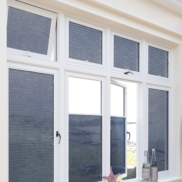 Voile Grape Perfect Fit Pleated Blind