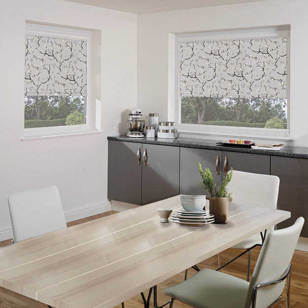 Cherry Blossom Perfect Fit Roller Blind
